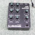 t.c. electronic DUAL PARAMETRIC EQUALIZER(DPE)