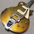 Gibson Les Paul Deluxe Gold Top 1976年製 MOD P-90搭載